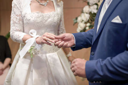 Wedding photography - The most beautiful day in the life Banco de Imagens - 155451538