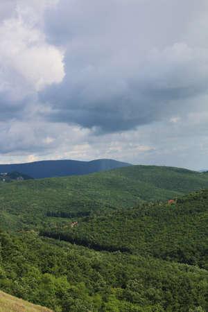 raincloud over the mountains - outdoor photography