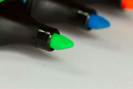 Macro shoots from highlighter - object photography