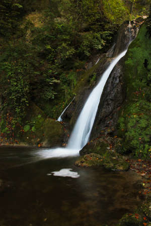 Waterfall in Hungary, Lillafüred - outdoor photography Banco de Imagens