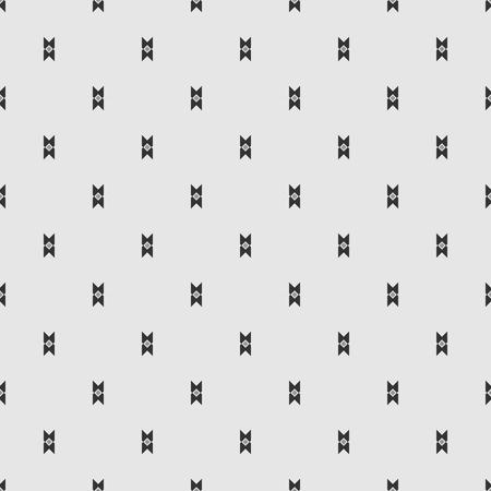 endless: Gray endless shapes pattern