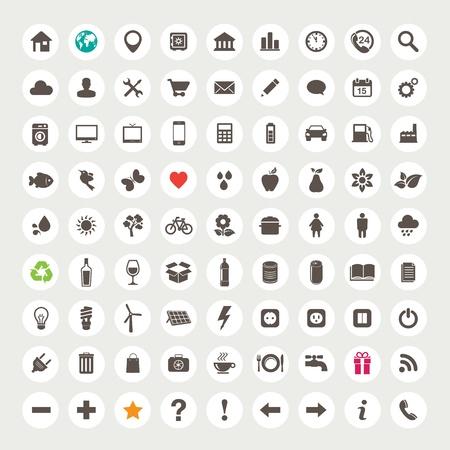 iconos: Conjunto de iconos de la web