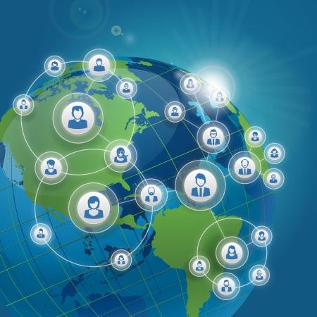 social media marketing: Concepto de red social