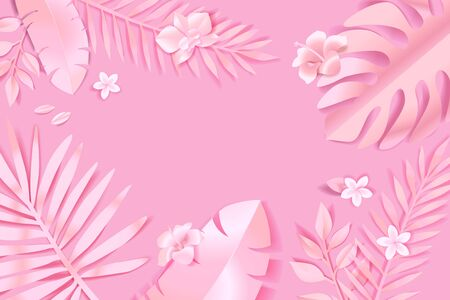 Beauty and nature  concept for website design