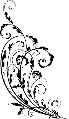 Vectorized Victorian Scrollwork