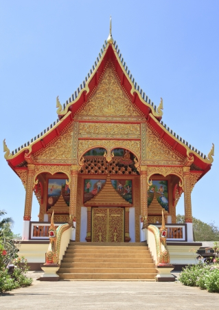 Buddhist temple in Hua Hin, Thailand Stock Photo