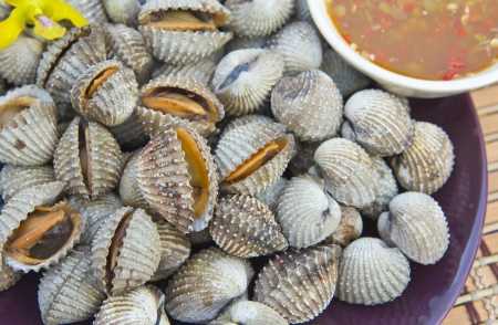 Cockles Thai, Seafood