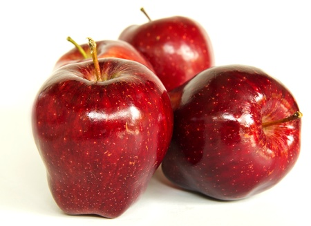 Four Red Apples Stock Photo - 19244202
