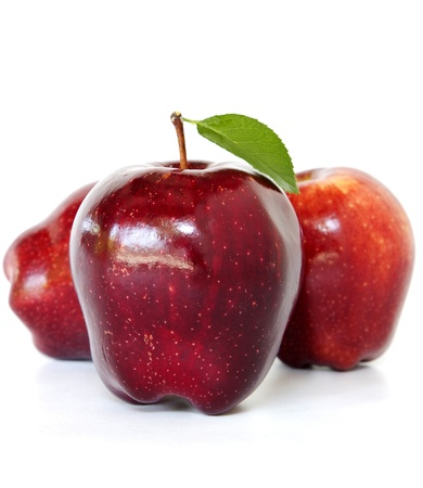 Red Apples (3 red apples) Stock Photo - 19244363