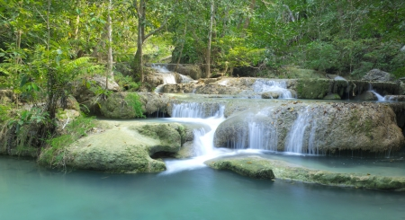 Erawan Waterfalls, Thailand photo