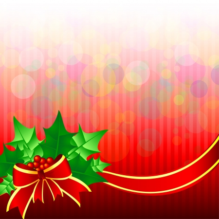 Christmas backgrounds with bow Vector
