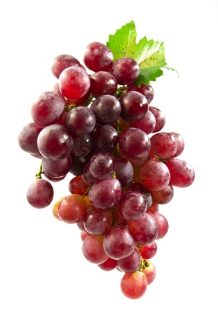 Very clean grape isolated