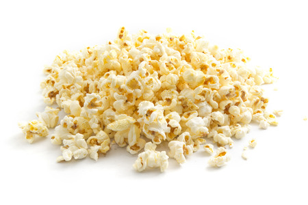 popcorn on isolated