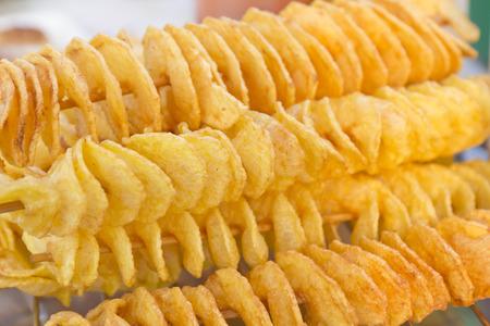 fried potato Stock Photo