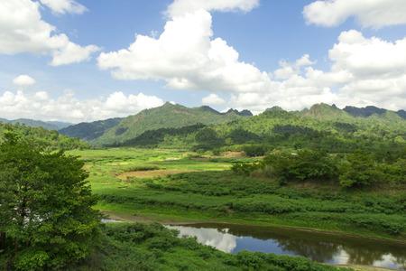 Thailand Sunrise In The Jungle
