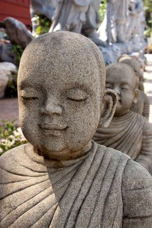 Buddhist novice photo