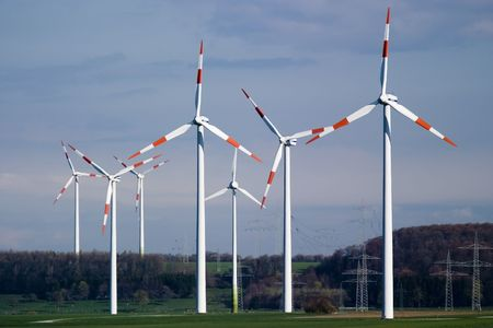 regenerate: Some of the wind energy generators from Marsfeld - Germany