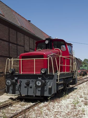 fueled: Small diesel fueled freight locomotive