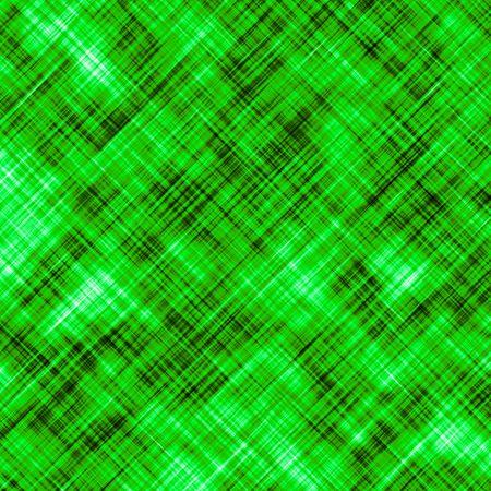 diagonally: Abstract greenish background of diagonally crossing random lines. Stock Photo