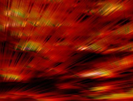 Crazy fiery red background of rays and blurs Stock Photo - 3660851