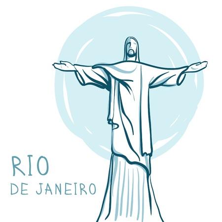 christ: World famous landmark series: Rio De Janeiro and Christ the Redeemer, Brazil