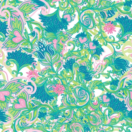 sparce: Seamless vector floral pattern