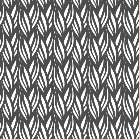 endless repeat structure: Seamless knitted pattern  Illustration