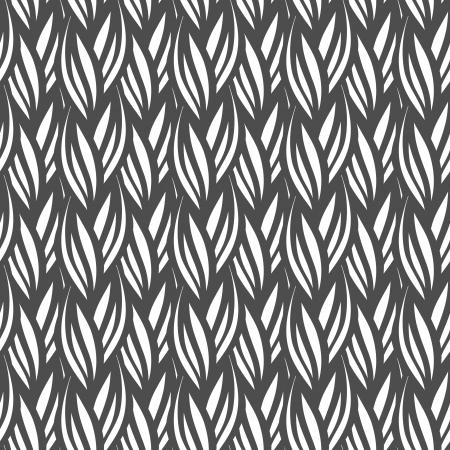 yarns: Seamless knitted pattern  Illustration