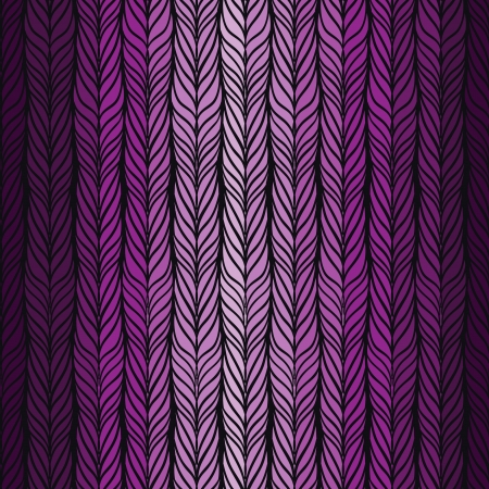 braids: Optical illusion: Black and green abstract seamless pattern.  Illustration
