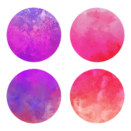 Vector watercolor stains Stock Vector - 24687174