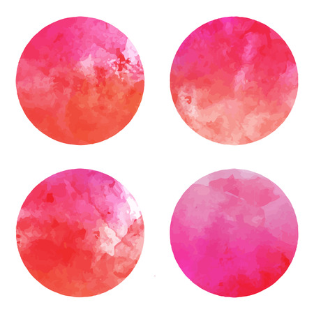 Vector watercolor stains Stock Vector - 24687177