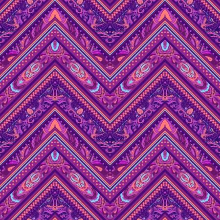 Ethnische Muster im Retro-Farben, aztekische Stil nahtlose Vektor Hintergrund Standard-Bild - 24584866
