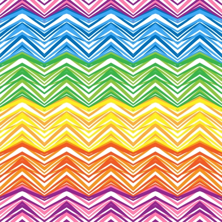 Ethnic  pattern in retro colors, aztec style seamless vector background Imagens - 24584914