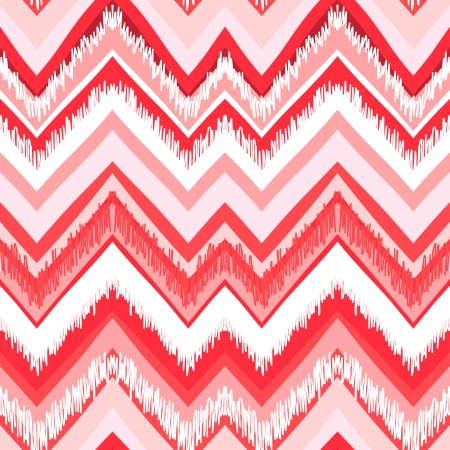 Ethnic  pattern in retro colors, aztec style seamless vector background  Vector
