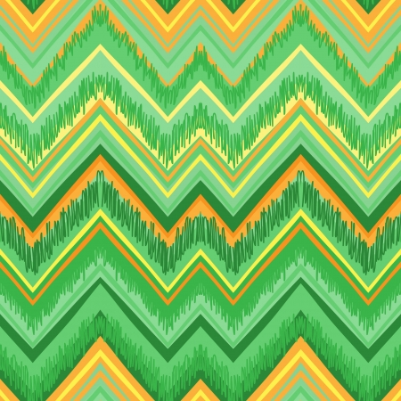 african culture: Ethnic  pattern in retro colors, aztec style seamless vector background  Illustration