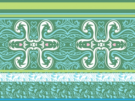 Retro Pattern Vector Set  Vector