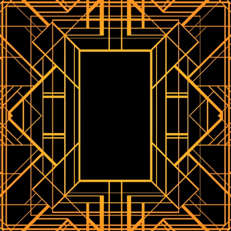 intersecting: Vintage background. Retro style frame.