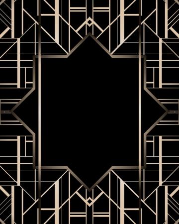 モダンアート: ビンテージ背景。レトロなスタイルのフレーム。  イラスト・ベクター素材