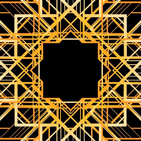 Vintage Hintergrund. Retro-Stil Rahmen