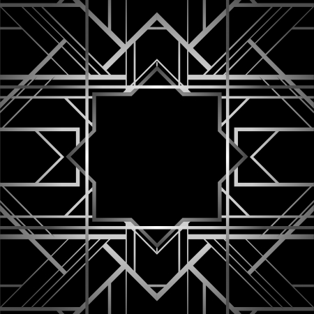 diagonal stripes: Vintage background. Retro style frame.  Illustration