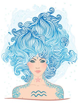 Risultati immagini per Acquario donna segno zodiacale
