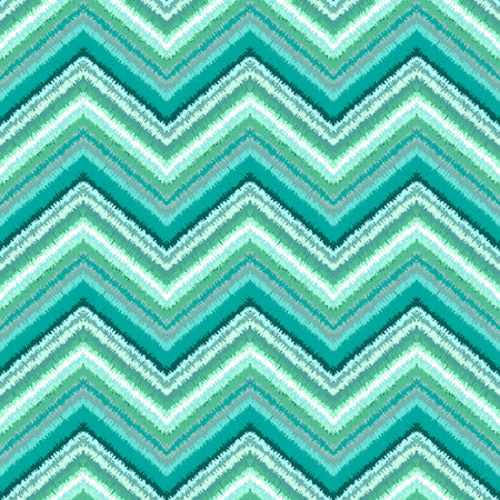 zigzag: Ethnic zigzag pattern in retro colors, aztec style seamless vector background