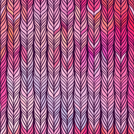 hypnotize: Optical illusion: Multicolor abstract seamless pattern. Texture of wavy vertical stripes. Stylish abstract background.