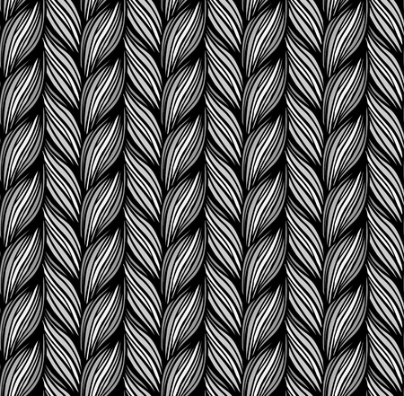 braids: Optical illusion: Multicolor abstract seamless pattern. Texture of wavy vertical stripes. Stylish abstract background.