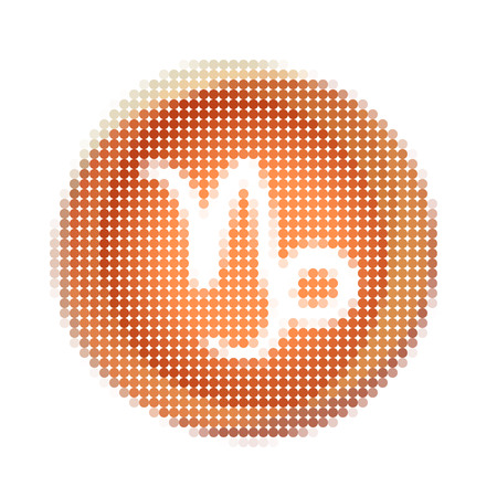 Watercolor zodiac icon set, vector sign