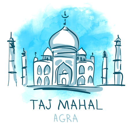 taj: World famous landmark series: Taj Mahal, Agra, India