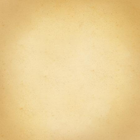 Papel beige textura vintage. Ilustración del vector.