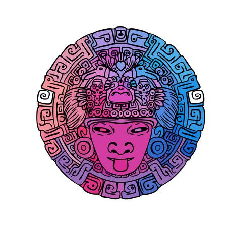 paper mask: Vintage Adventures: vector set. Design elements