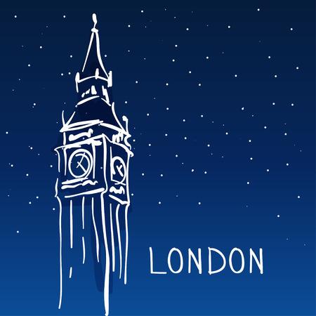 london   england: World famous landmark series: Big Ben, London, England