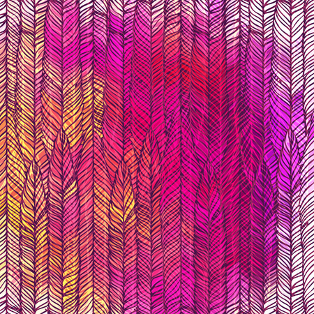 hypnotize: Optical illusion: Color pink abstract vector pattern